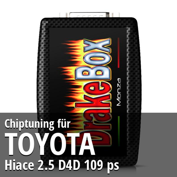 Chiptuning Toyota Hiace 2.5 D4D 109 ps