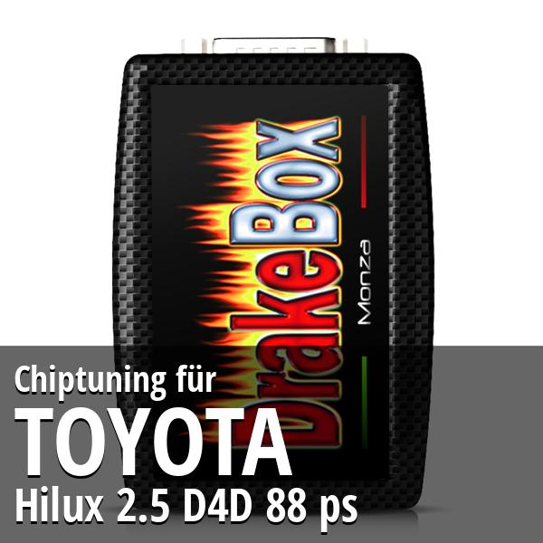 Chiptuning Toyota Hilux 2.5 D4D 88 ps