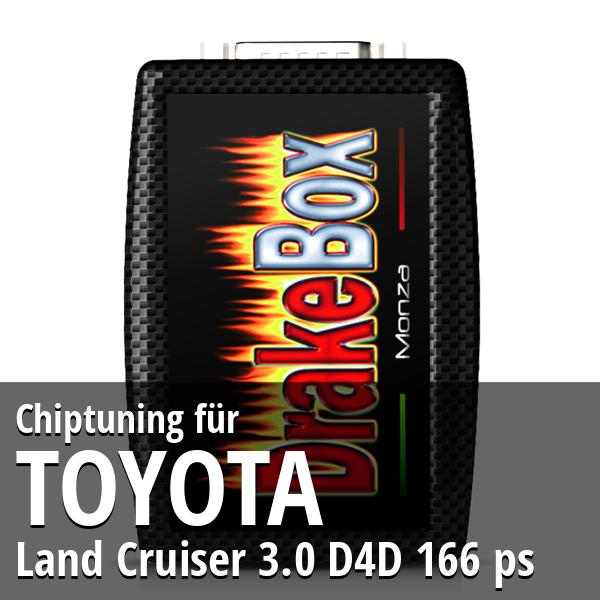 Chiptuning Toyota Land Cruiser 3.0 D4D 166 ps