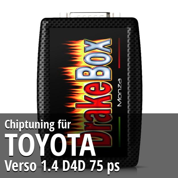 Chiptuning Toyota Verso 1.4 D4D 75 ps