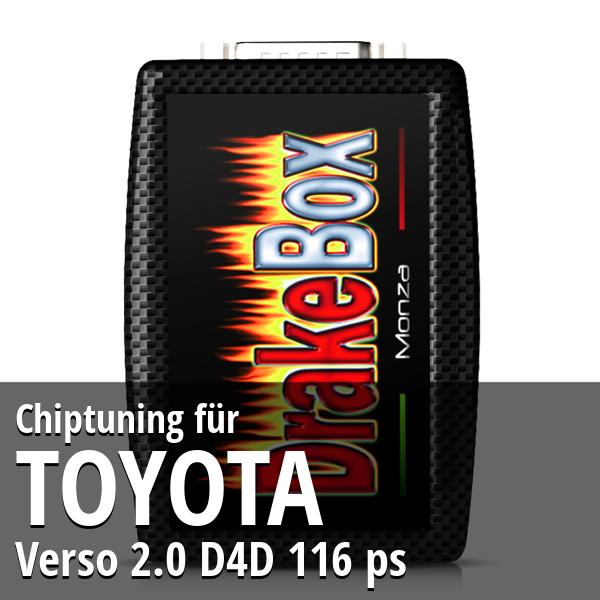 Chiptuning Toyota Verso 2.0 D4D 116 ps