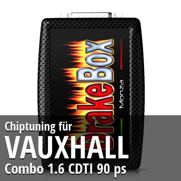 Chiptuning Vauxhall Combo 1.6 CDTI 90 ps