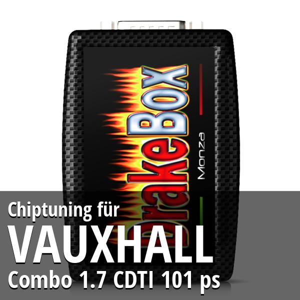 Chiptuning Vauxhall Combo 1.7 CDTI 101 ps
