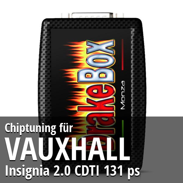 Chiptuning Vauxhall Insignia 2.0 CDTI 131 ps