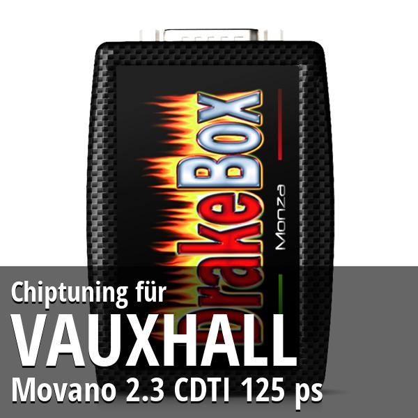 Chiptuning Vauxhall Movano 2.3 CDTI 125 ps