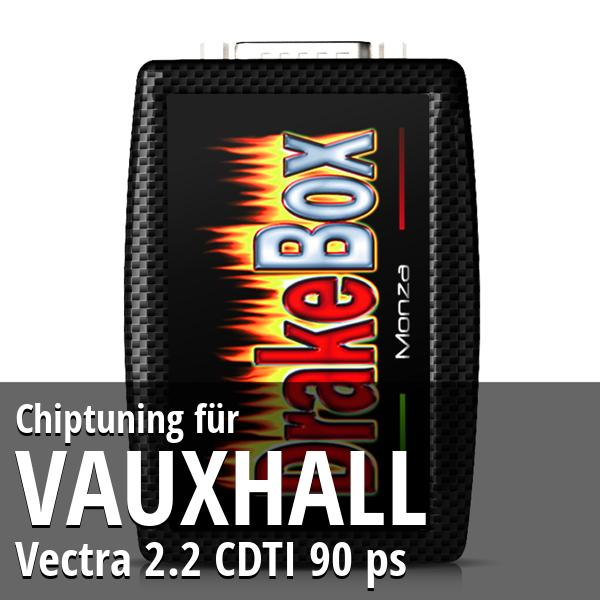 Chiptuning Vauxhall Vectra 2.2 CDTI 90 ps