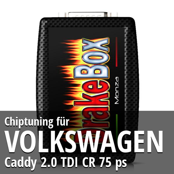 Chiptuning Volkswagen Caddy 2.0 TDI CR 75 ps