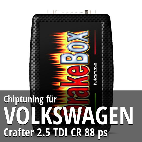 Chiptuning Volkswagen Crafter 2.5 TDI CR 88 ps