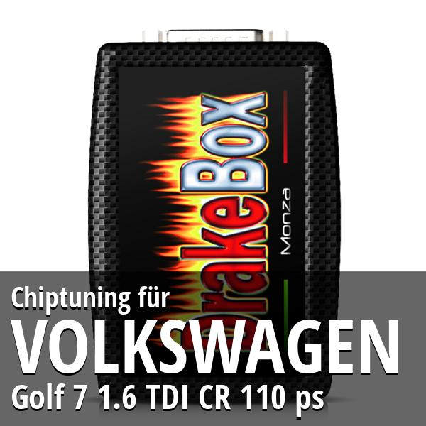 Chiptuning Volkswagen Golf 7 1.6 TDI CR 110 ps