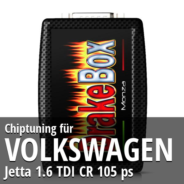Chiptuning Volkswagen Jetta 1.6 TDI CR 105 ps
