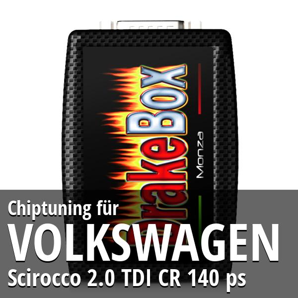 Chiptuning Volkswagen Scirocco 2.0 TDI CR 140 ps