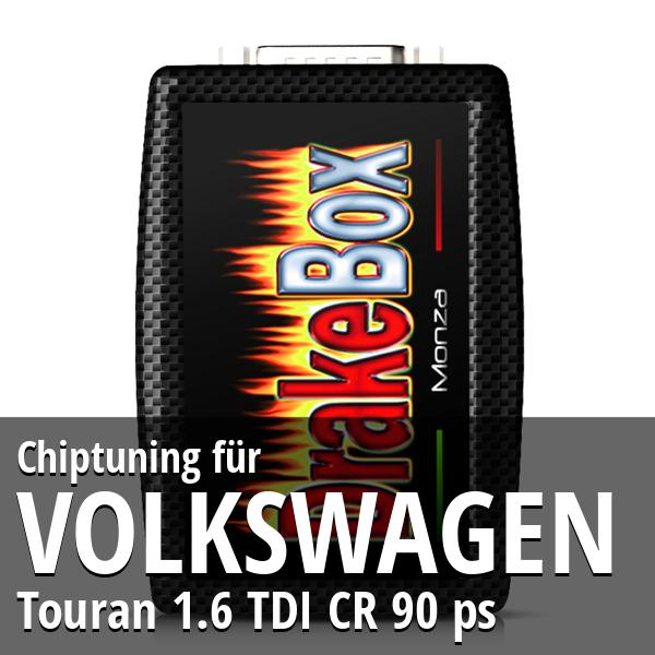 Chiptuning Volkswagen Touran 1.6 TDI CR 90 ps