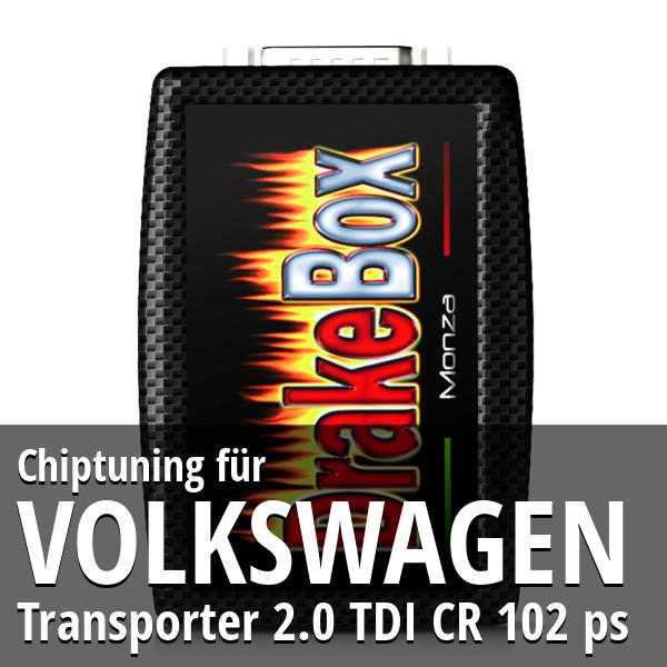 Chiptuning Volkswagen Transporter 2.0 TDI CR 102 ps