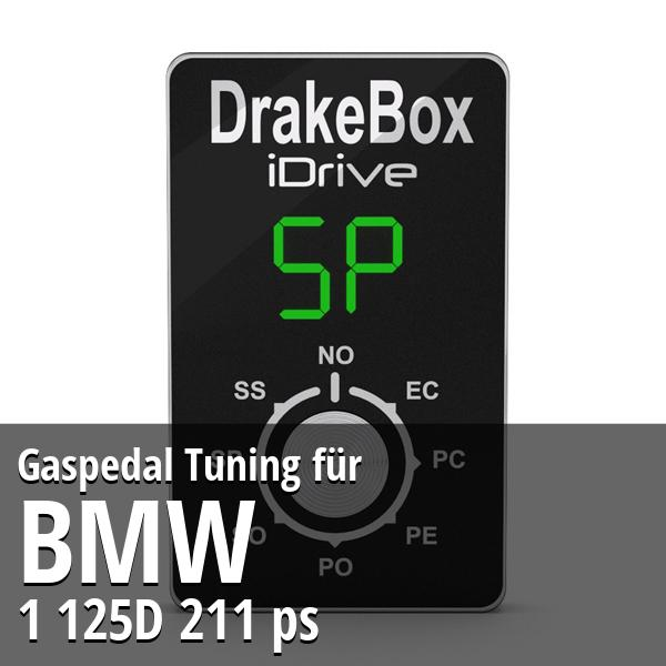 Gaspedal Tuning Bmw 1 125D 211 ps