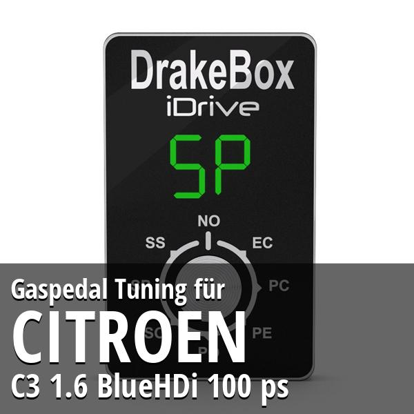Gaspedal Tuning Citroen C3 1.6 BlueHDi 100 ps