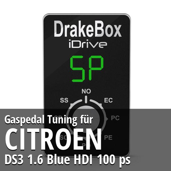 Gaspedal Tuning Citroen DS3 1.6 Blue HDI 100 ps