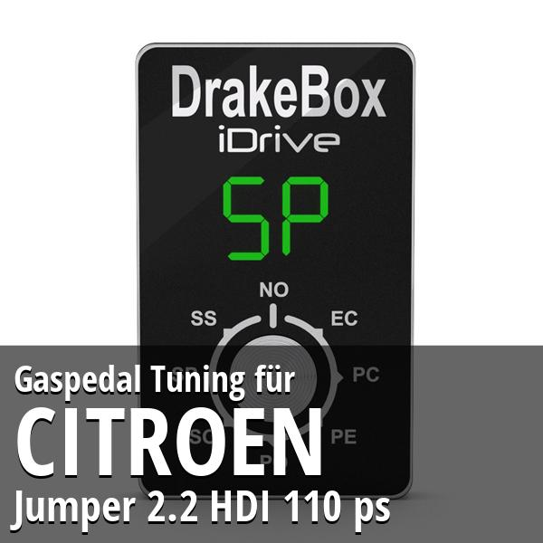 Gaspedal Tuning Citroen Jumper 2.2 HDI 110 ps