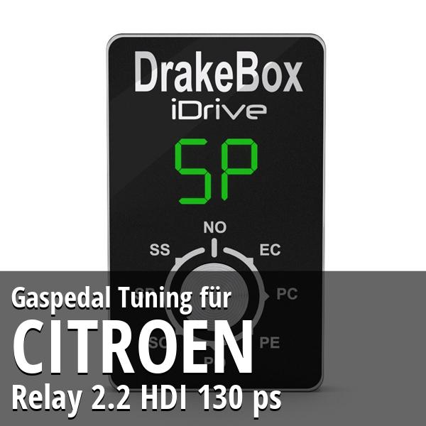 Gaspedal Tuning Citroen Relay 2.2 HDI 130 ps