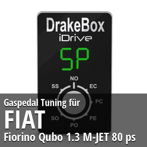 Gaspedal Tuning Fiat Fiorino Qubo 1.3 M-JET 80 ps
