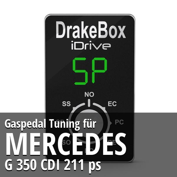 Gaspedal Tuning Mercedes G 350 CDI 211 ps