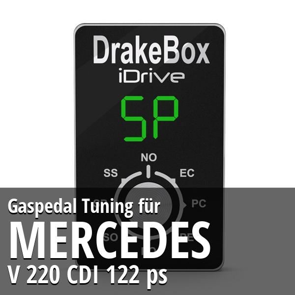 Gaspedal Tuning Mercedes V 220 CDI 122 ps