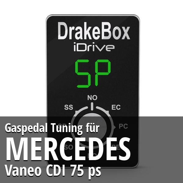 Gaspedal Tuning Mercedes Vaneo CDI 75 ps