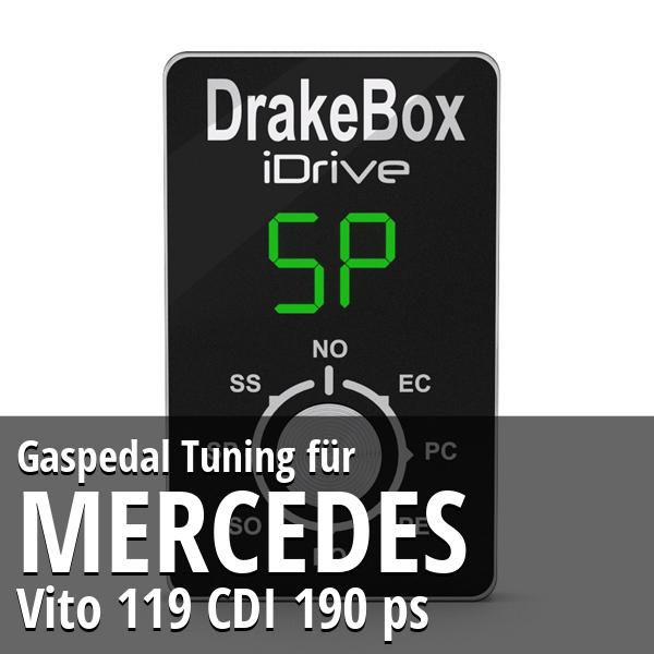 Gaspedal Tuning Mercedes Vito 119 CDI 190 ps
