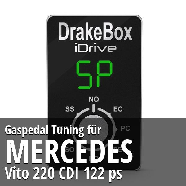 Gaspedal Tuning Mercedes Vito 220 CDI 122 ps