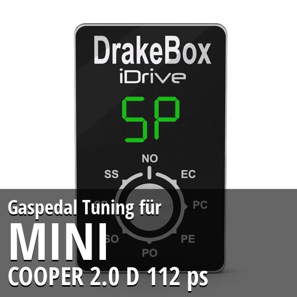 Gaspedal Tuning Mini COOPER 2.0 D 112 ps