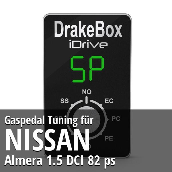 Gaspedal Tuning Nissan Almera 1.5 DCI 82 ps