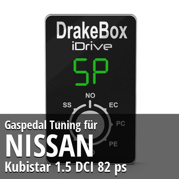 Gaspedal Tuning Nissan Kubistar 1.5 DCI 82 ps