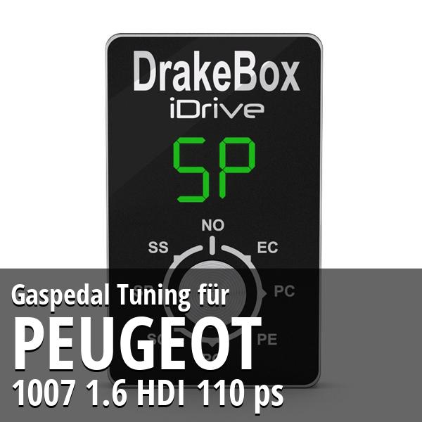 Gaspedal Tuning Peugeot 1007 1.6 HDI 110 ps