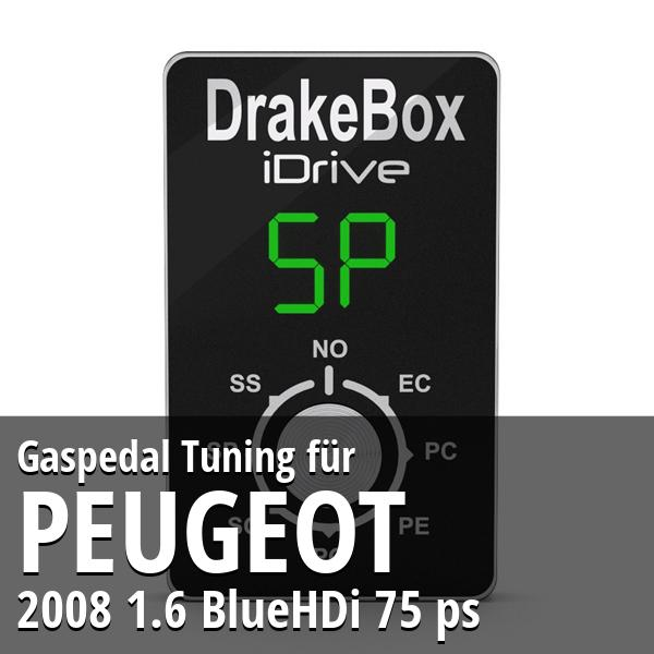 Gaspedal Tuning Peugeot 2008 1.6 BlueHDi 75 ps
