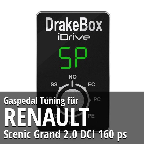 Gaspedal Tuning Renault Scenic Grand 2.0 DCI 160 ps