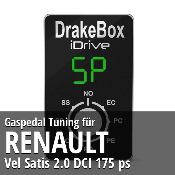 Gaspedal Tuning Renault Vel Satis 2.0 DCI 175 ps