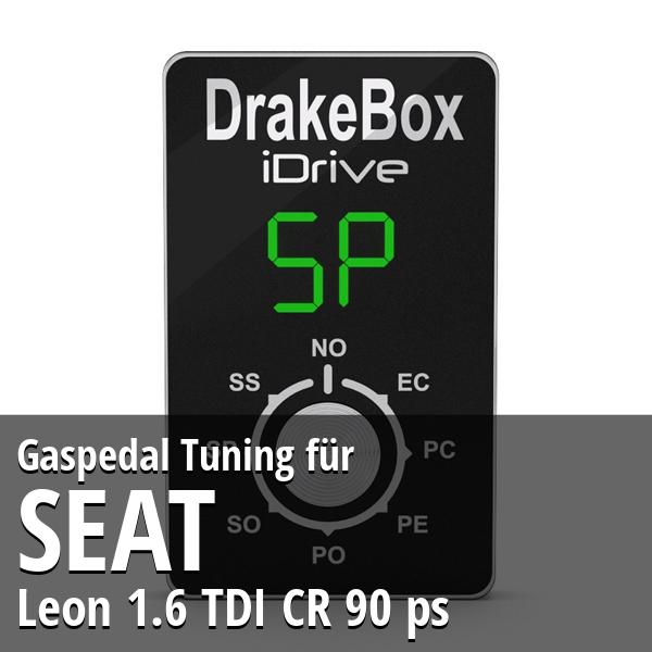 Gaspedal Tuning Seat Leon 1.6 TDI CR 90 ps