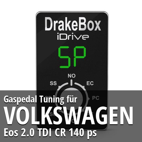 Gaspedal Tuning Volkswagen Eos 2.0 TDI CR 140 ps