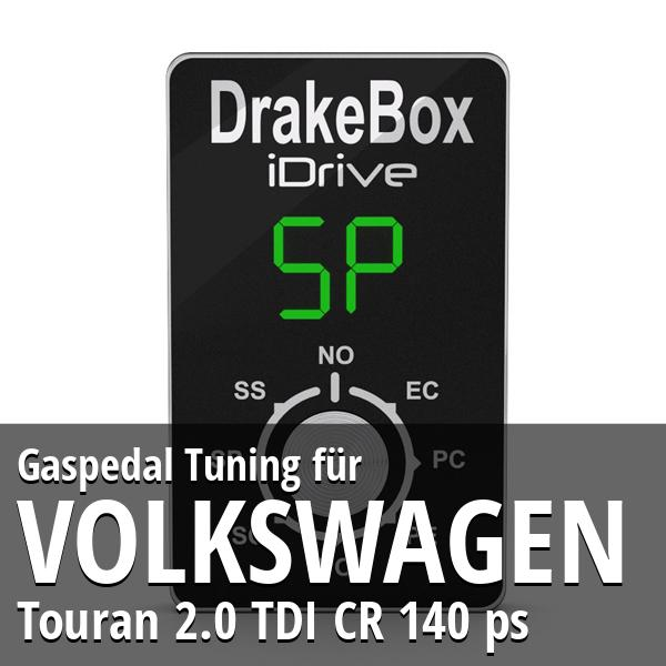 Gaspedal Tuning Volkswagen Touran 2.0 TDI CR 140 ps