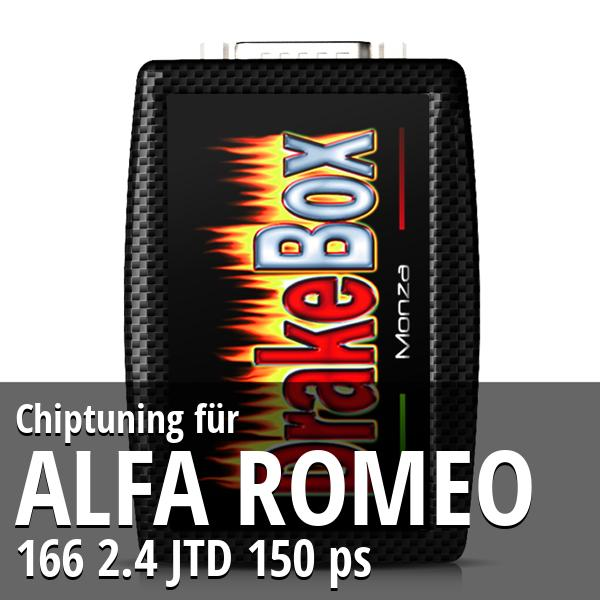 Chiptuning Alfa Romeo 166 2.4 JTD 150 ps