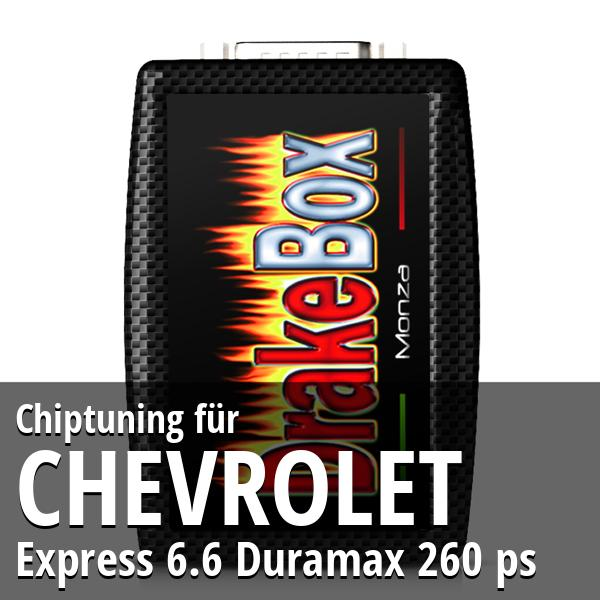 Chiptuning Chevrolet Express 6.6 Duramax 260 ps