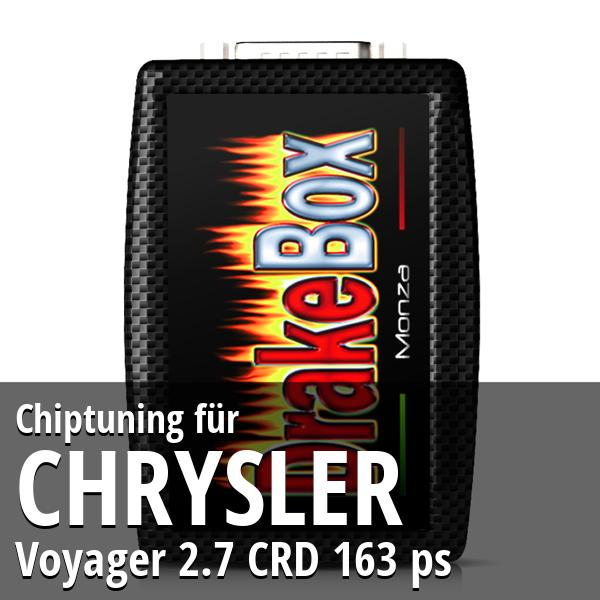 Chiptuning Chrysler Voyager 2.7 CRD 163 ps