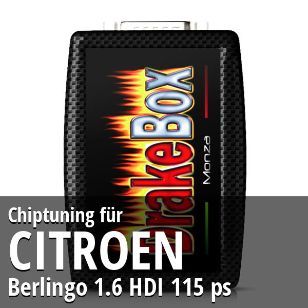 Chiptuning Citroen Berlingo 1.6 HDI 115 ps