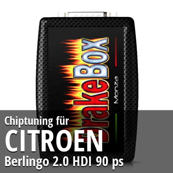 Chiptuning Citroen Berlingo 2.0 HDI 90 ps