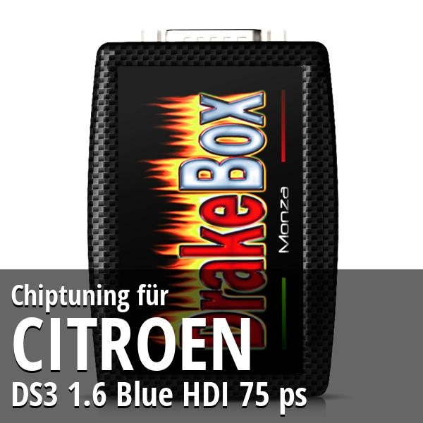 Chiptuning Citroen DS3 1.6 Blue HDI 75 ps