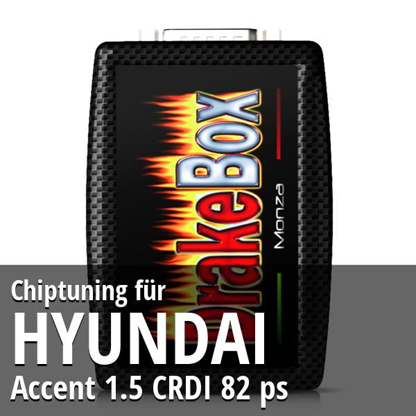 Chiptuning Hyundai Accent 1.5 CRDI 82 ps