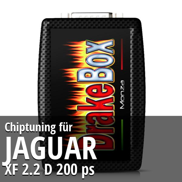 Chiptuning Jaguar XF 2.2 D 200 ps