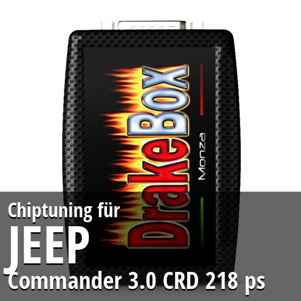 Chiptuning Jeep Commander 3.0 CRD 218 ps