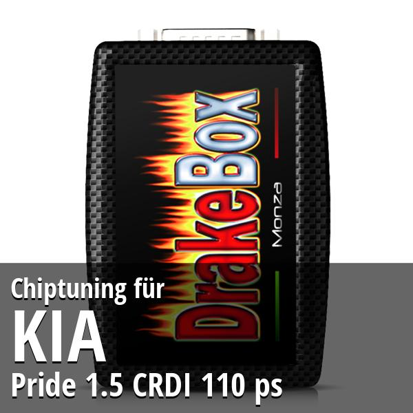 Chiptuning Kia Pride 1.5 CRDI 110 ps