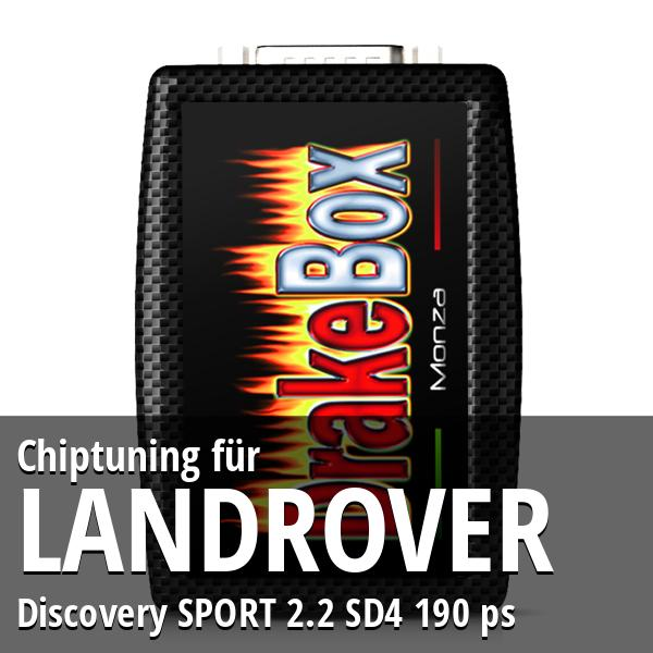 Chiptuning Landrover Discovery SPORT 2.2 SD4 190 ps