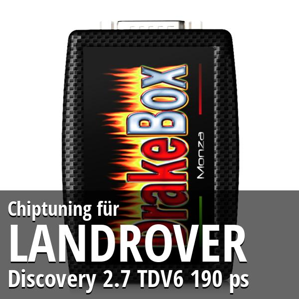 Chiptuning Landrover Discovery 2.7 TDV6 190 ps